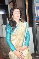 Tejaswi Madivada looks super cute in Saree at V care fund raising event COLORS ~  Exclusive 041.JPG