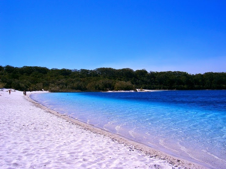 2. Lake McKenzie Beach, Fraser Island, Australia - Top 10 Beaches to Go to in 2015