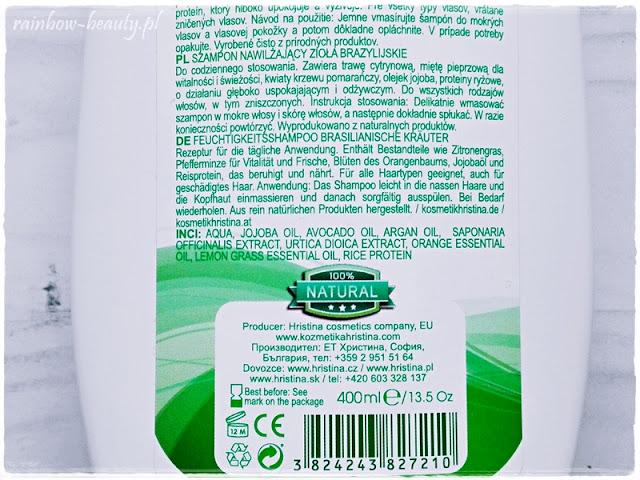hristina-cosmetics-naturalny-szampon-ziola-brazylijskie-opinie-blog-wlosy-pielegnacja