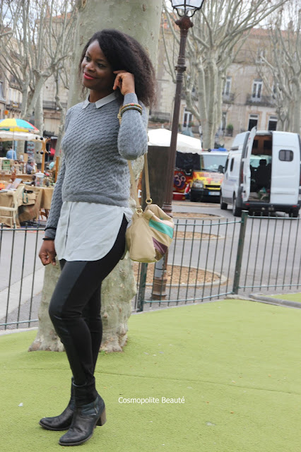 escale à Sete, port maritime, Patty Hair Extensions, casual look, Monoprix, cheveux naturels, extensions capillaire