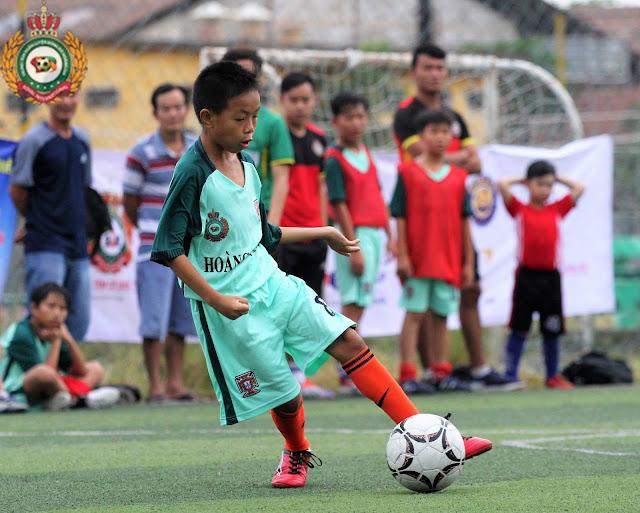 Học bóng đá cho thiếu nhi quận Bình Thạnh TP HCM