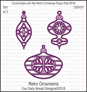 Custom Dies: Retro Ornaments