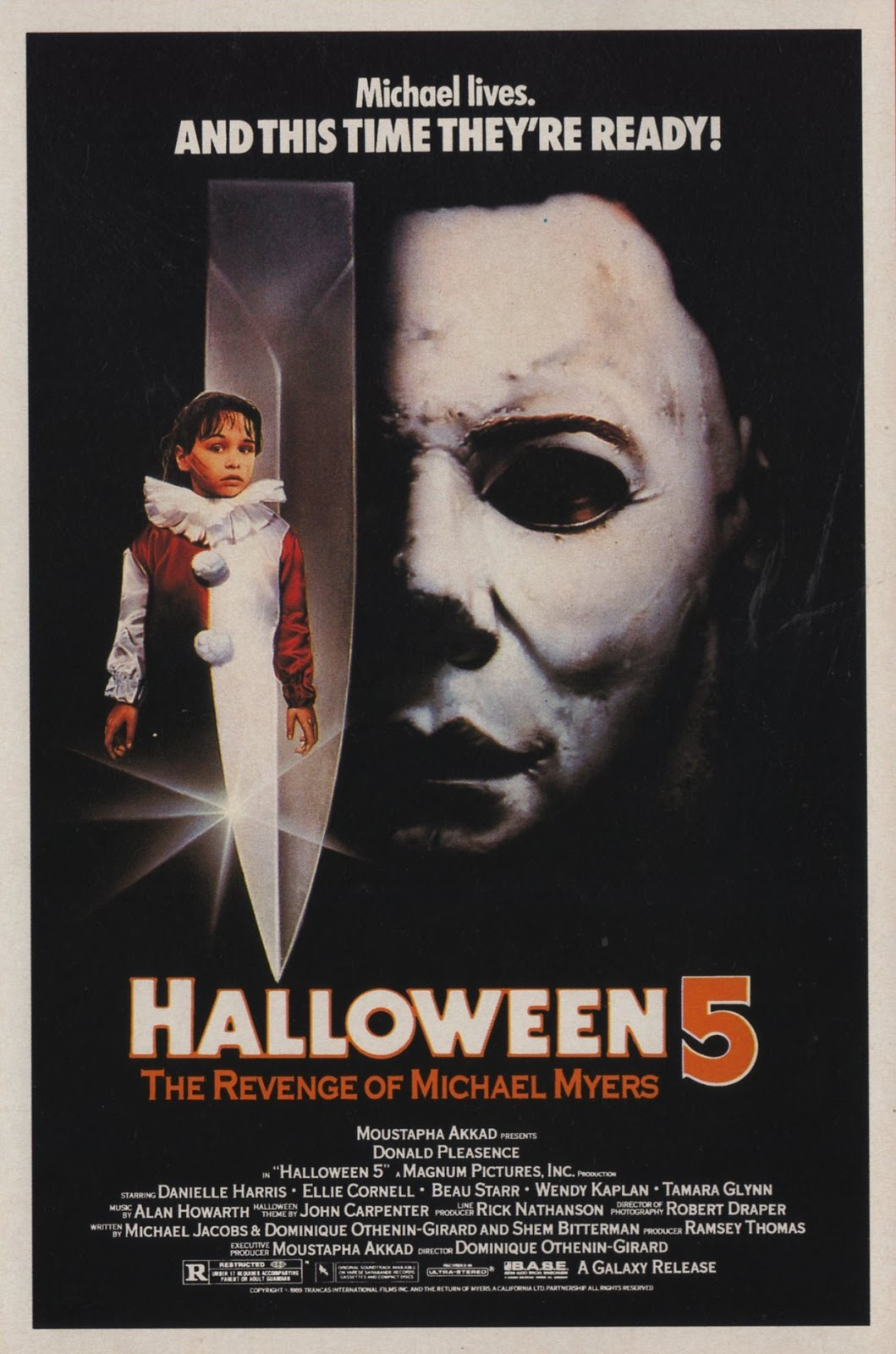 f63b55a7f7c In my review for Halloween 4  The Return of Michael Myers I described my  overall attitude towards it as a love hate relationship.