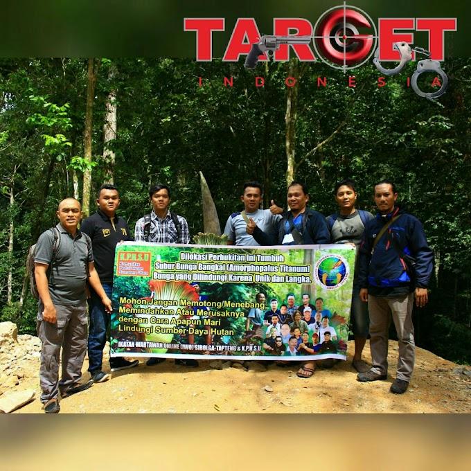 IWO Sibolga Tapteng Ikut Peran Jaga Kawasan Bunga Bangkai
