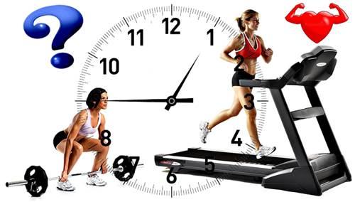 Dale duro a las pesas un día y otro día dale al cardio aeróbico