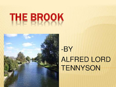 Summary of The Brook Poem By Alfred Lord Tennyson