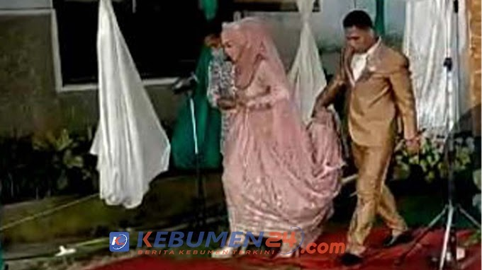 Nekat Gelar Resepsi, Pesta Pernikahan Di Kutowinangun DIbubarkan Petugas