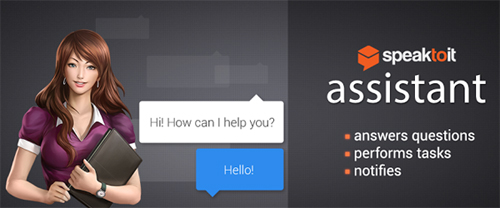 Speaktoit virtual assistant for Android devices