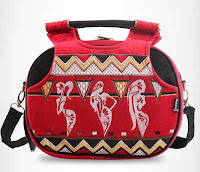 Alfamind Tas MSB Makara Stylish Pure Red ANDHIMIND