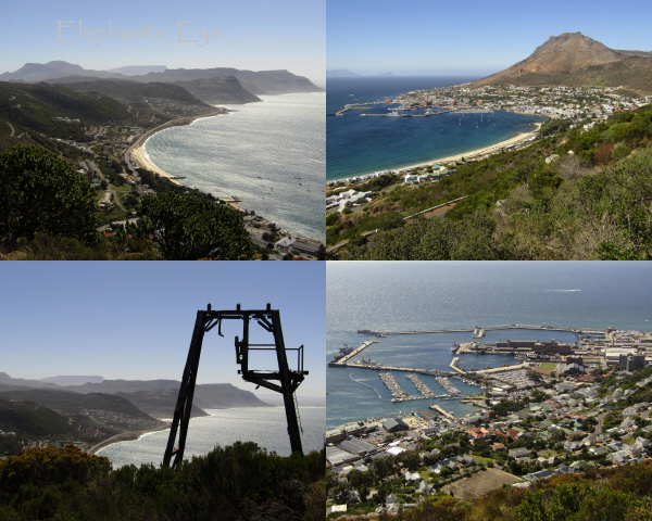 Back to home, down to Cape Point Aerial cableway, Naval Base at Simon's Town