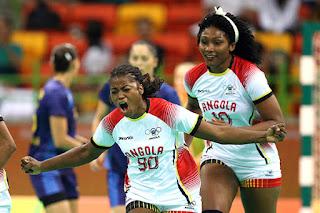 Angola derrotó a uno de los candidatos en Rio2016