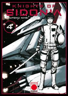 """Reseña de """"Knights of Sidonia"""" vol.4 de Tsutomu Nihei - Panini Cómics"""