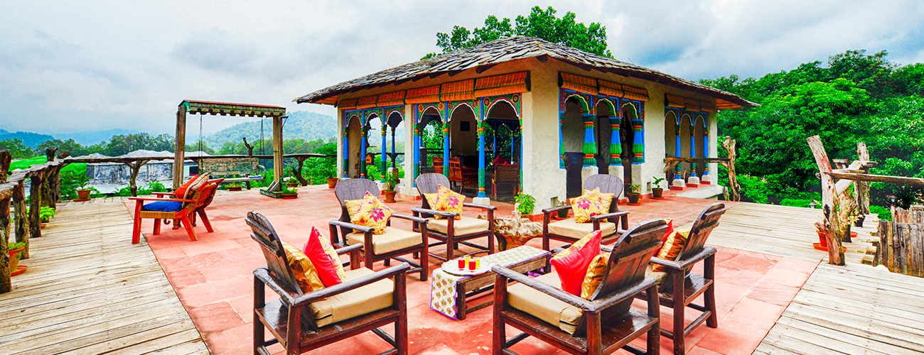 Five Star Hotel in Jim Corbett National Park