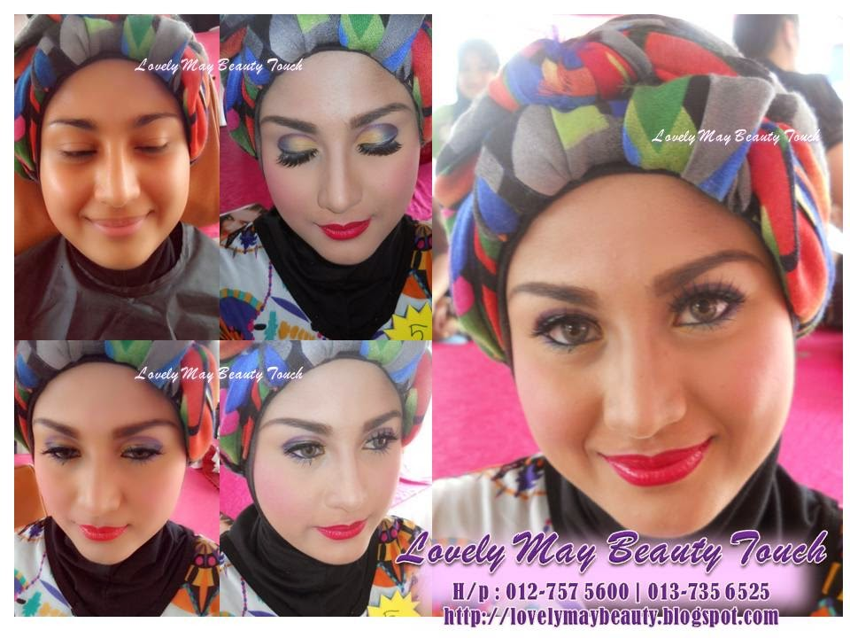 MAKE UP PERTANDINGAN AVON PERINGKAT SARINGAN BUTIK