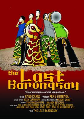 Poster Film The Last Barongsai