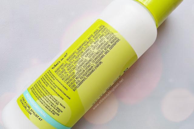 Ingredientes del No Poo Original Zero Lather Conditioning Cleanser de Deva Curl