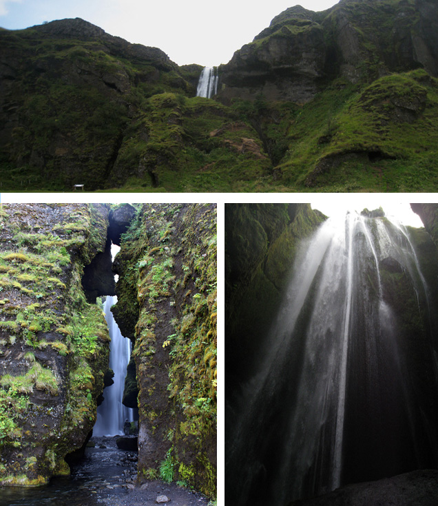 Gljúfrabúi, una cascada semiescondida