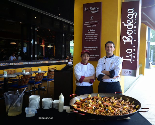 Sunday Pintxos and Paella @ La Bodega, The Shore Shopping Gallery Malacca
