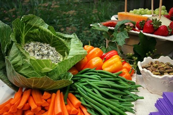 como fazer uma festa vegetariana