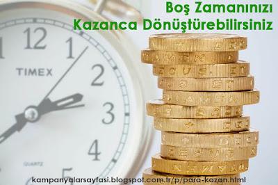 Boş Zamanınızı Paraya Çevirebilirsiniz