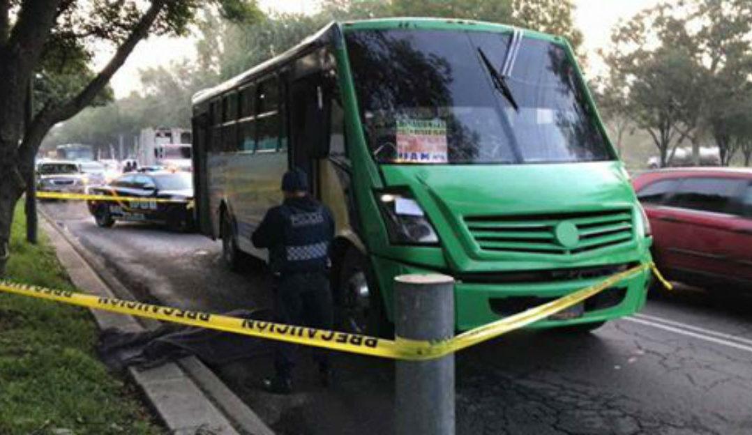 """""""Justiciero"""" mata a asaltante de microbús en Xochimilco"""