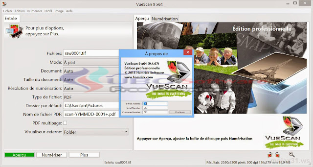 VueScan Pro 9.5 Full Version 2016 - UBG Software
