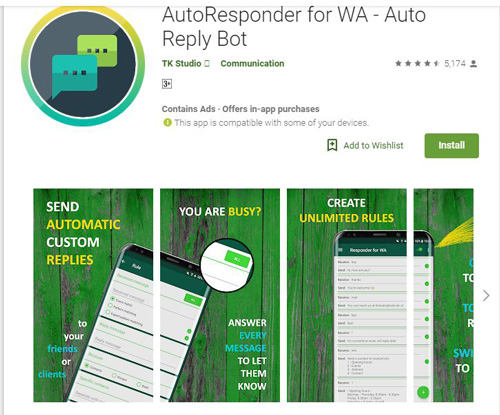 [APP][5+] AutoResponder for WhatsApp™ #NEW By TK Studio