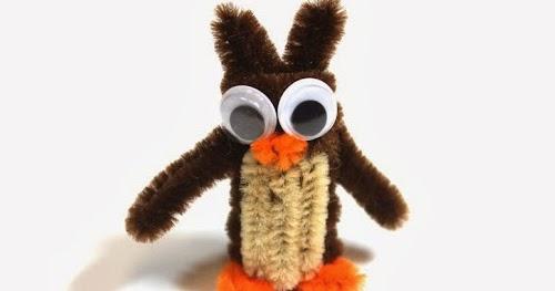 My Owl Barn Diy Pipe Cleaner Animals