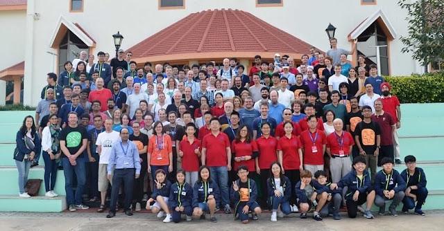 World Sudoku & Puzzle Championship 2017 participants