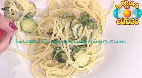 Prova del cuoco - Ingredienti e procedimento della ricetta Spaghetti alla Nerano di Mauro Improta