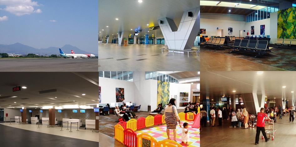 Tampilan baru Bandara Husein Sastranegara