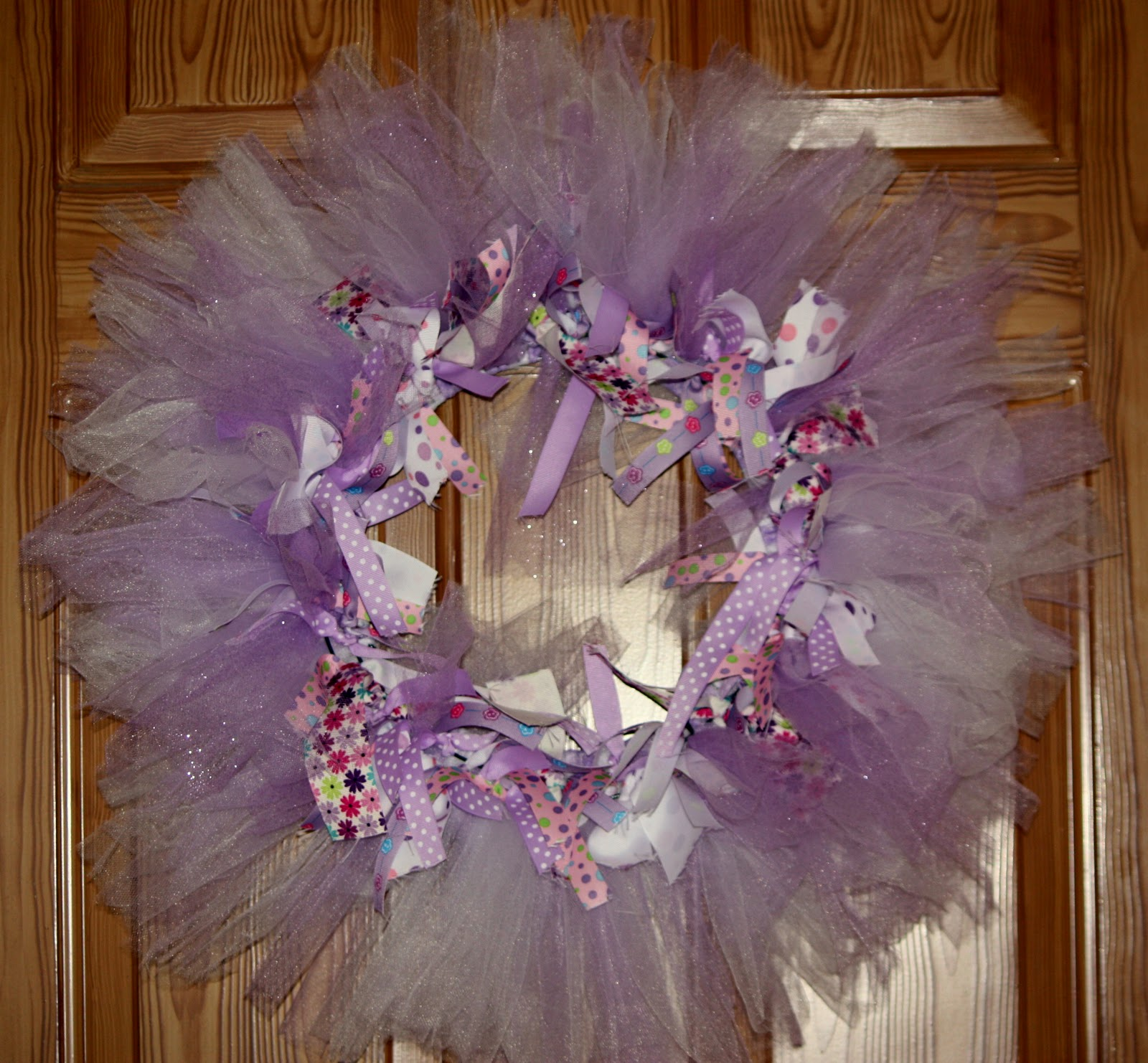 Sister Dipity Tulle And Ribbon Wreath Tutorial