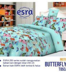 sprei motif Butterfly Tosca