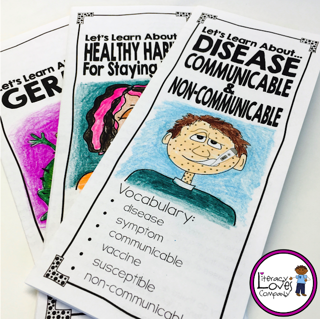 This back to school season,  teach your students about germs, diseases, and how to stay well with these 3 health lessons. Perfect for 4th and 5th grade classrooms.