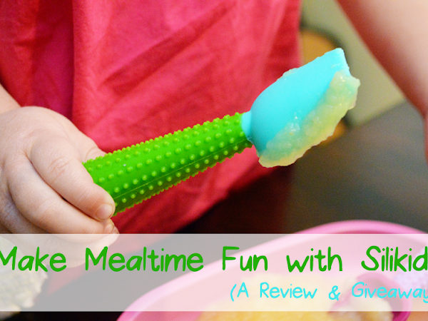 Make Mealtime Fun with Silikids {A Review & Giveaway}
