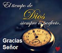Los tiempos de Dios son perfectos