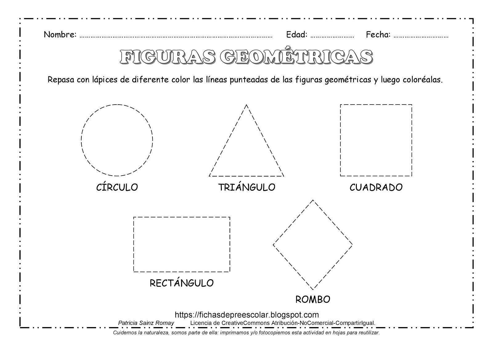 Excepcional Hojas De Trabajo De GeometrÃa Pdf Motivo - hojas de ...