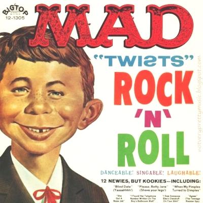 Not Very Pretty Music: Mad Twists Rock 'n Roll - 1962