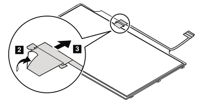 Removal steps of LCD panel and LCD cable assembly Lenovo