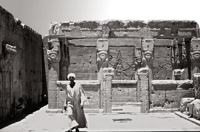 Templo de Hathor en Denderah, Egipto