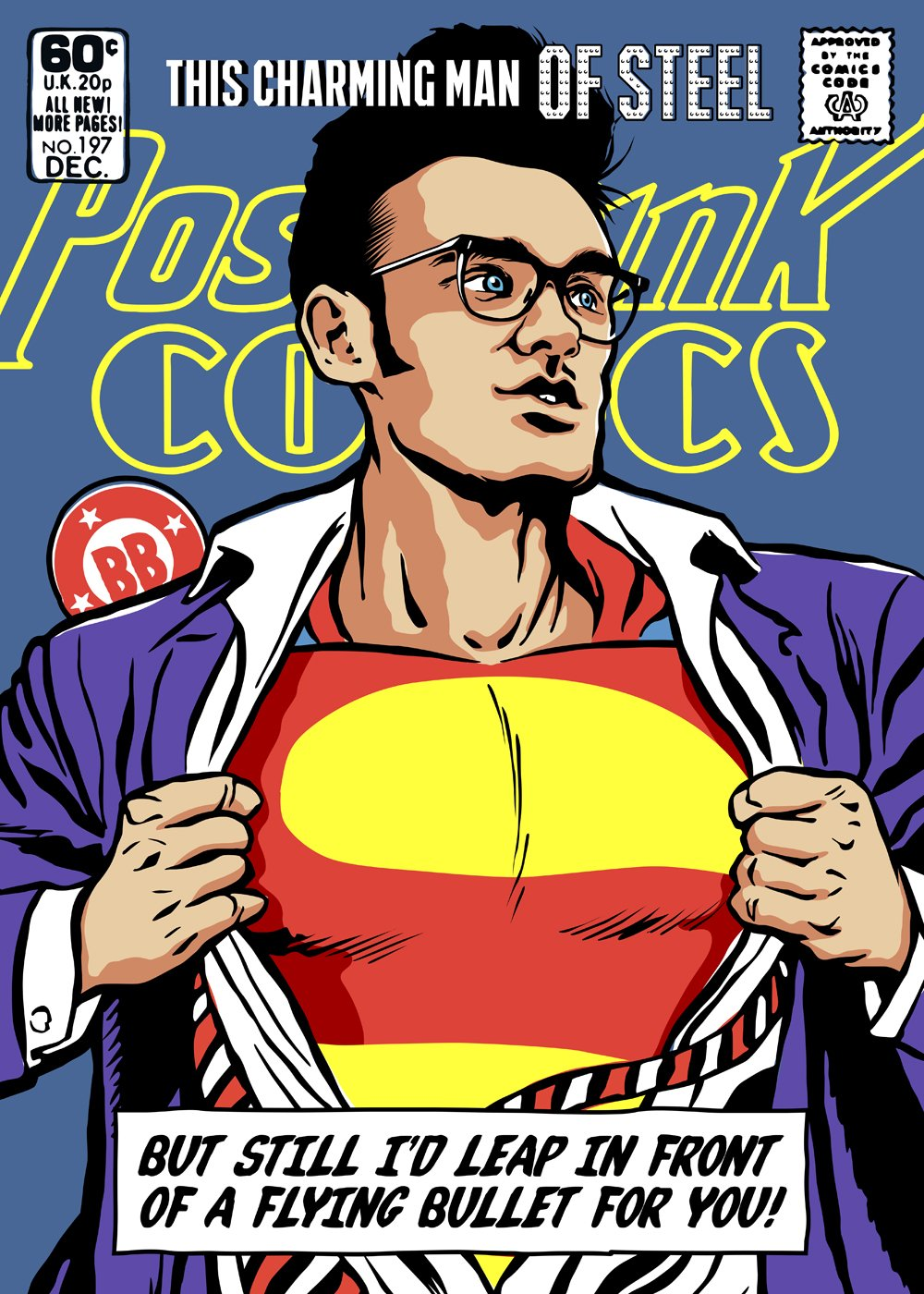 ©Butcher Billy - Post-Punk & Vintage Comics. Ilustración | Illustration