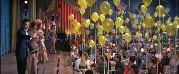 helium balloons 11 ocean's eleven Once a la medianoche cuadrilla globos