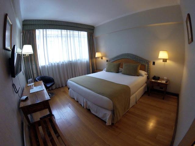 Quarto do Hotel Frontera Clásico em Temuco