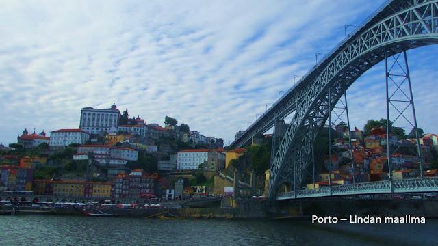 Siltanäkymä Porto Portugali