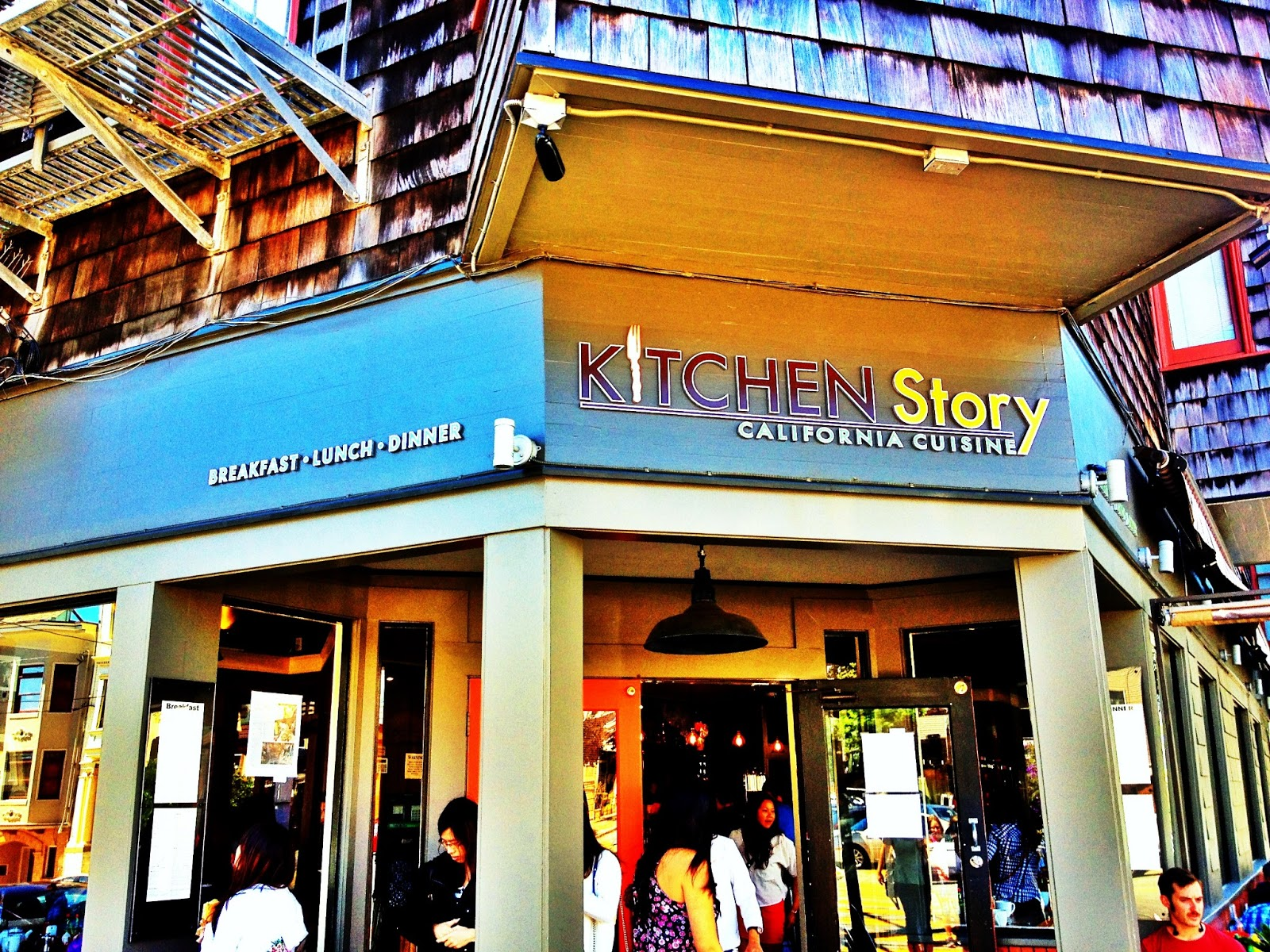 Alphabet Dining Letter K Kitchen Story San Francisco  Chow Down USA