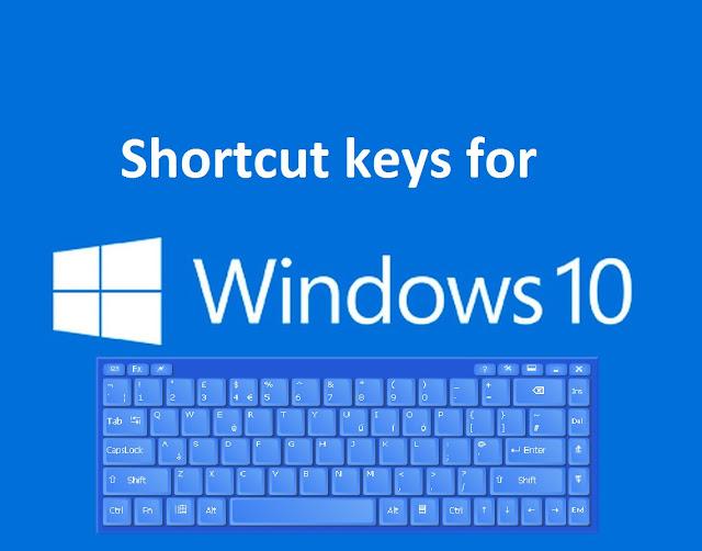 Windows 10 Keyboard Shortcuts PDF