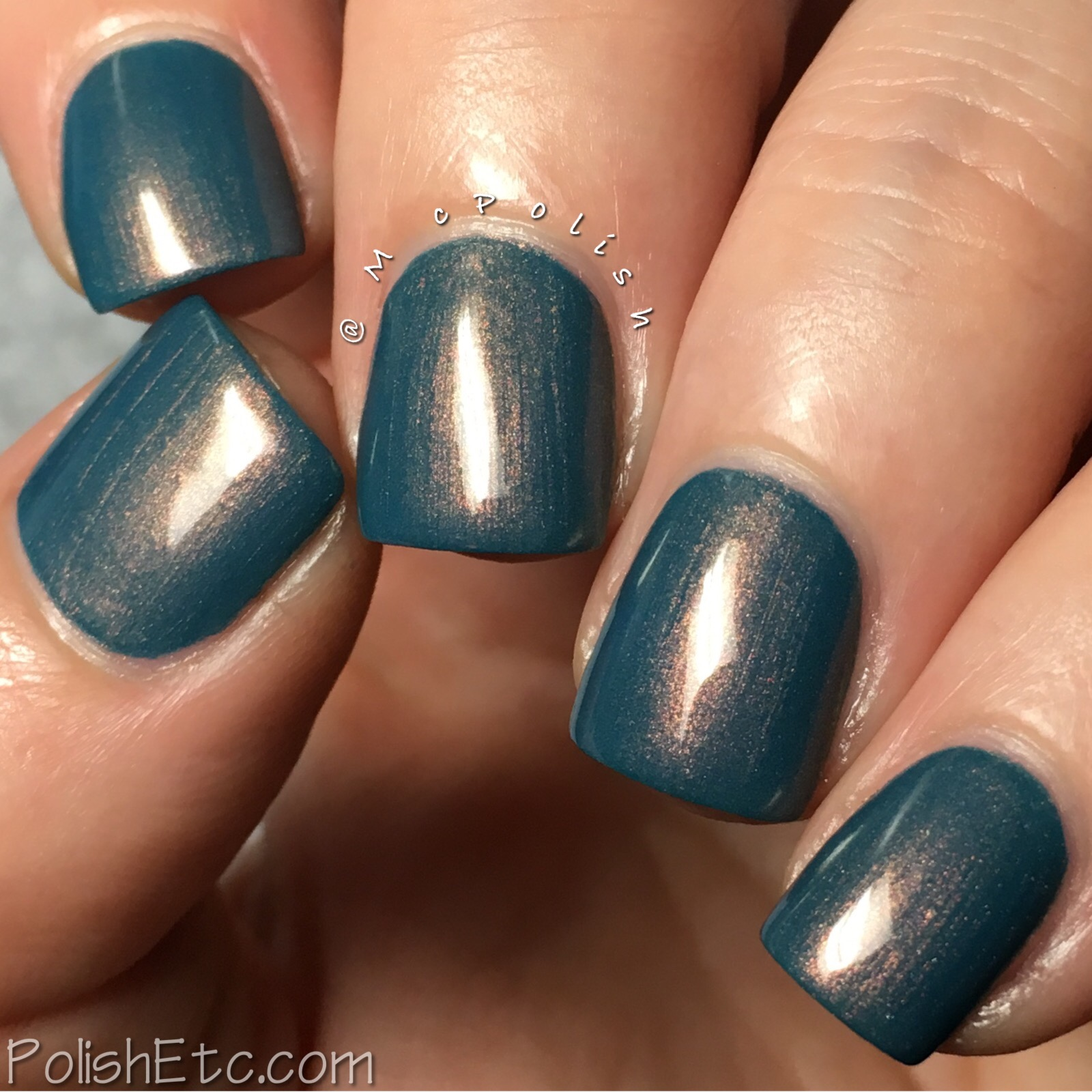 Native War Paints - Copper Beach Trio - McPolish - Crashing Waves