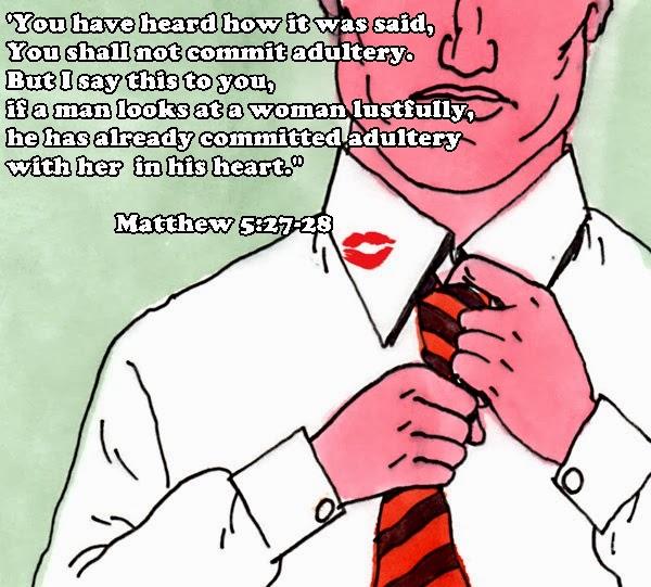 kuwento ni kapitan kokak: Adultery in the bible
