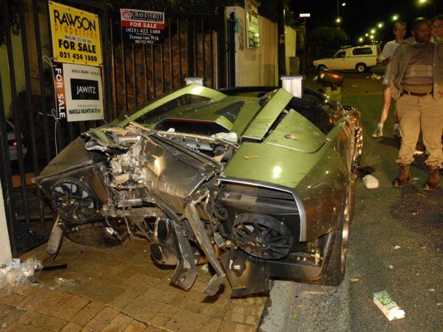 Update Lamborghini Murcielago Roadster Wrecked In Cape Town In 2006