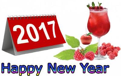 Gambar Kalender Ucapan Selamat Tahun Baru 2017 Kartun Lucu Happy New Year
